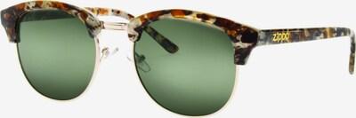 ZIPPO Sonnenbrille 'mixed Green Flash Leopard' in braun, Produktansicht