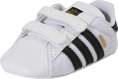 ADIDAS ORIGINALS Krabbelschuh 'SUPERSTAR CRIB'