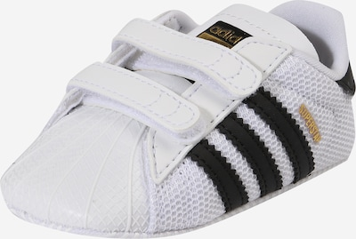 ADIDAS ORIGINALS Wandelschoen 'Superstar Crib' in de kleur Zwart / Wit, Productweergave