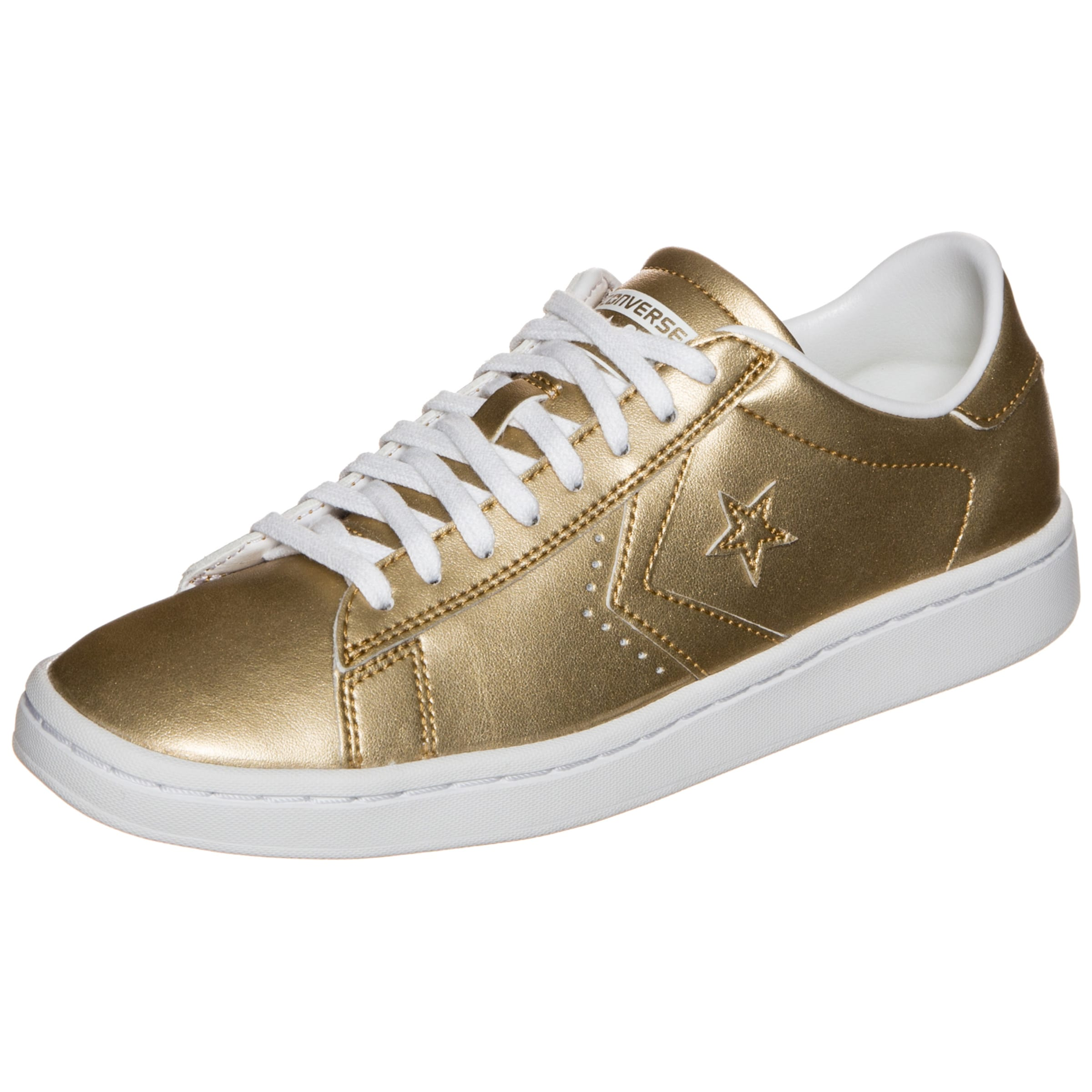 Pro Metallic In Converse Leather Ox Gold Lp Sneaker 8ynwvmP0ON