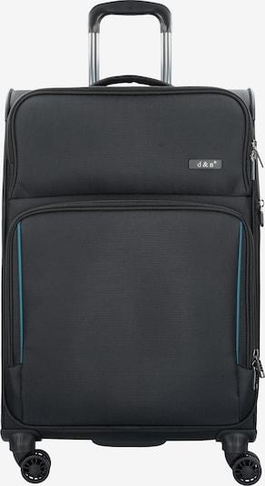 D&N Trolley in de kleur Zwart, Productweergave