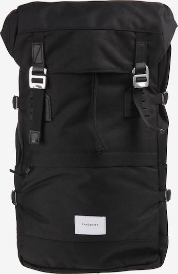 SANDQVIST Rucksack 'Harald' in schwarz, Produktansicht