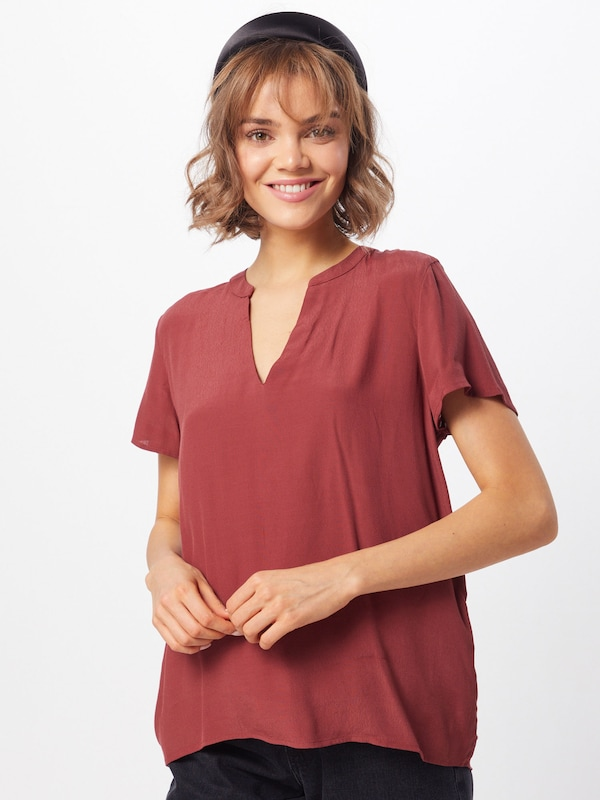 ONLY Bluse 'MOLLY ' in rot, Modelansicht