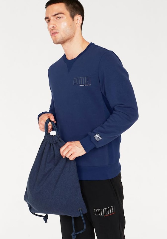 PUMA Sweatshirt 'STYLE ATHLETICS CREW FL'