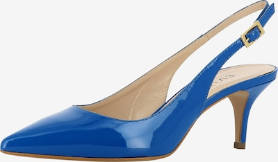 EVITA Damen Sling Pumps in royalblau, Produktansicht