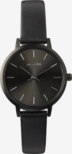 Pilgrim Analogna ura 'Nerine' | črna / srebrna barva, Prikaz izdelka