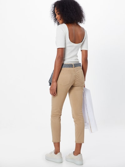 Marc O'Polo Jeans 'Lulea' in hellbeige: Rückansicht