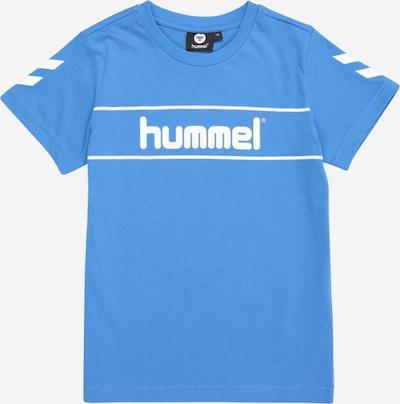 Hummel T-Shirt fonctionnel en bleu / blanc, Vue avec produit
