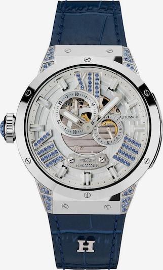 HAEMMER Uhr in violettblau / silber, Produktansicht