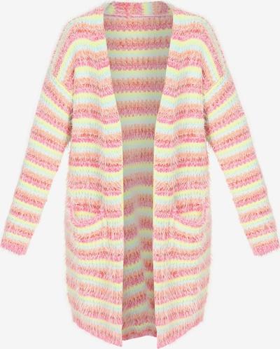 MYMO Gebreide mantel in de kleur Gemengde kleuren / Pink, Productweergave