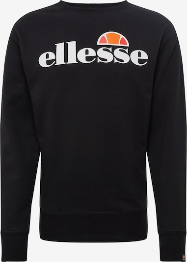 ELLESSE Sweat-shirt en noir, Vue avec produit