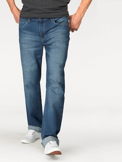 ARIZONA Stretch-Jeans 'Willis' (Packung, 2 tlg.) in blau / graphit, Modelansicht