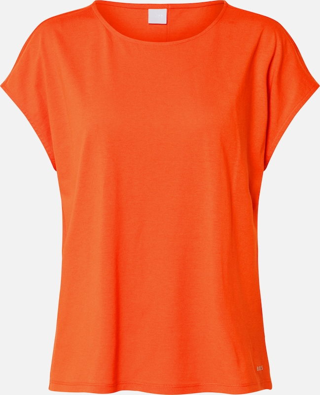 BOSS Shirt 'Tesarah' in orange, Produktansicht