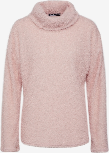 Boohoo Pullover 'Fluffy Knit Roll Neck Jumper' in pink, Produktansicht