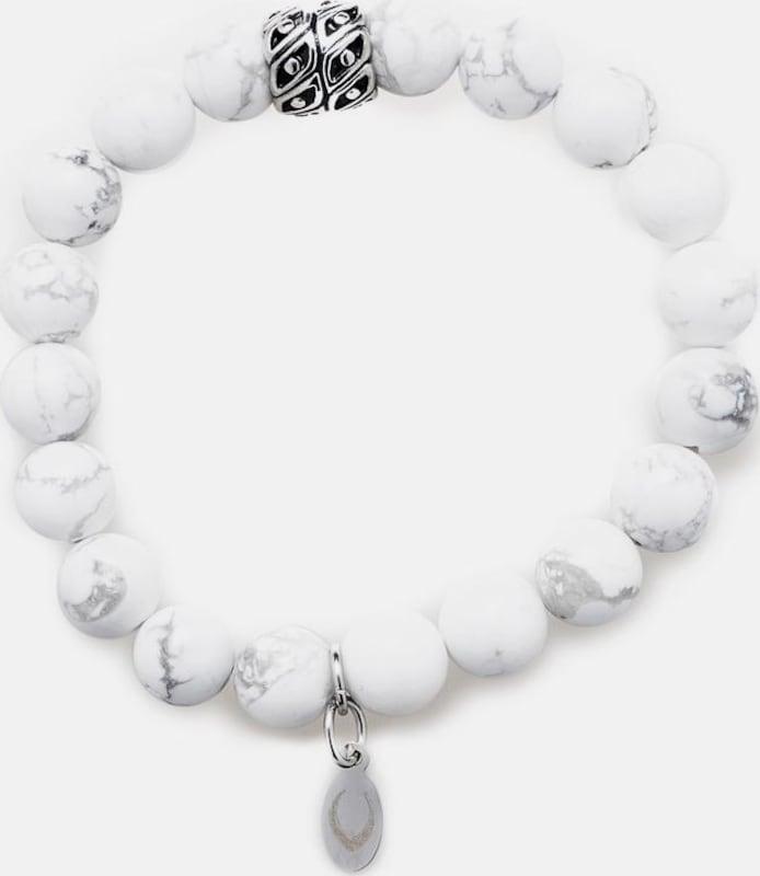 ROYAL-EGO Armband 'Whie turquoise, 1243'