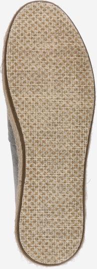 TOMS Espadrilles 'Alpargata Core' in stone: Ansicht von unten