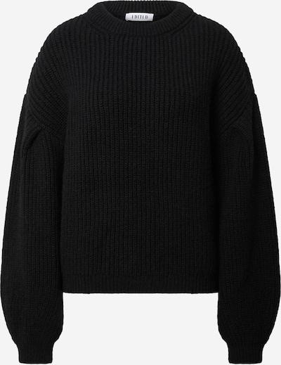 EDITED Pullover 'Beaneth' in schwarz, Produktansicht