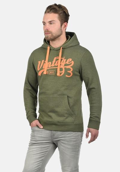 BLEND Hoodie 'Vince' in grün: Frontalansicht