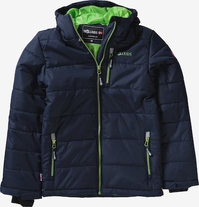 TROLLKIDS Outdoorjacke 'Hemsedal' in dunkelblau, Produktansicht