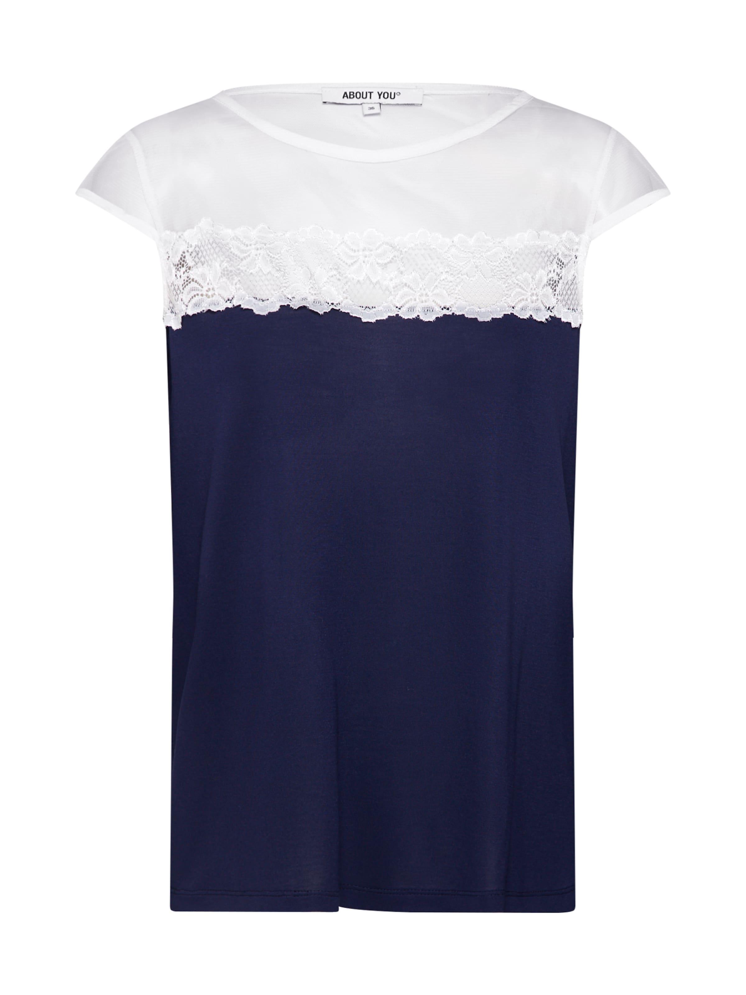 En Shirt' MarineFoncé 'viola About T shirt You Bleu wP80knO
