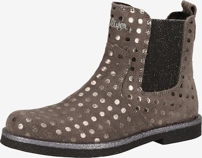 s.Oliver Junior Chelsea Boots in grau, Produktansicht
