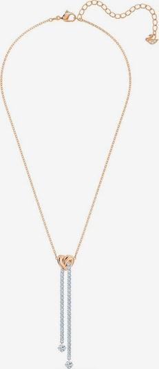 "Swarovski Kette mit Anhänger ""Lifelong Heart"" in rosegold / grau, Produktansicht"