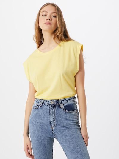 Urban Classics Shirt in gelb: Frontalansicht
