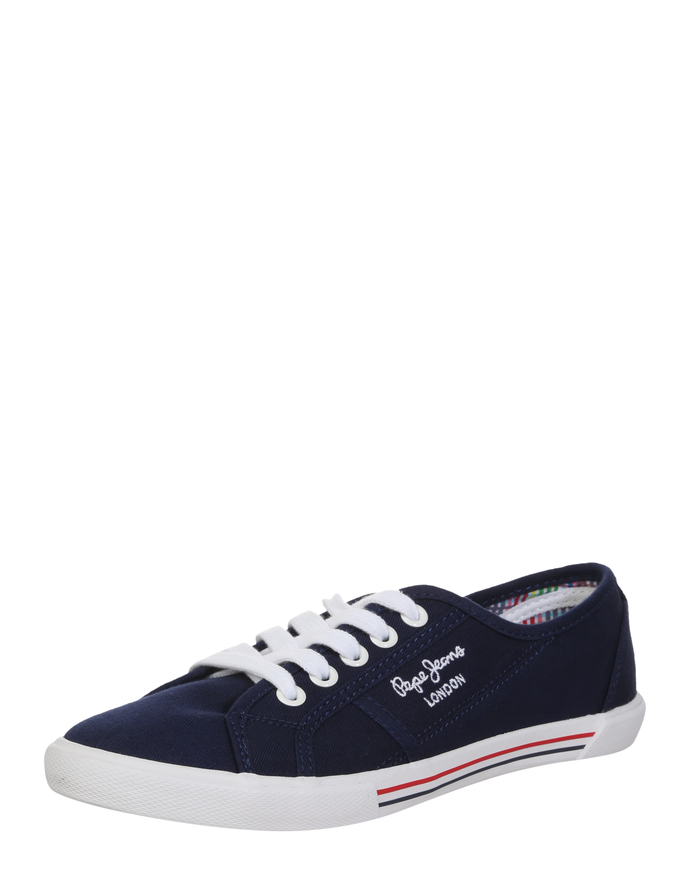 Pepe Jeans Sneaker in Canvas-Optik Hohe Qualität