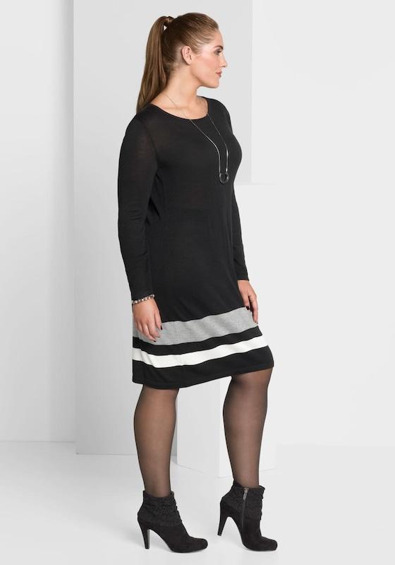 Sheego Style Strickkleid