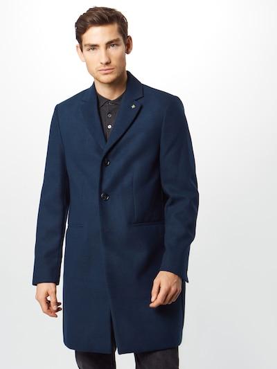 BURTON MENSWEAR LONDON Płaszcz przejściowy 'rich' w kolorze niebieskim, Podgląd na modelu(-ce)