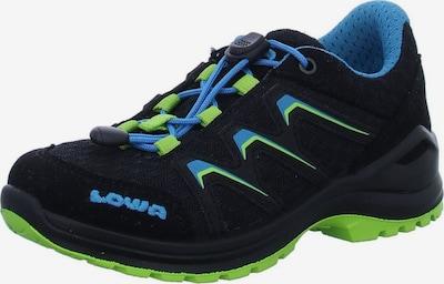 LOWA Lage schoen in de kleur Limoen / Zwart, Productweergave