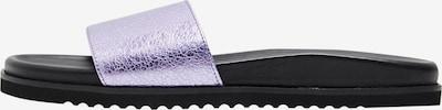 MYMO Mule en violet pastel, Vue avec produit