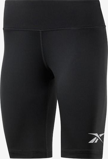 REEBOK Tights 'Radlerhose' in schwarz / weiß, Produktansicht