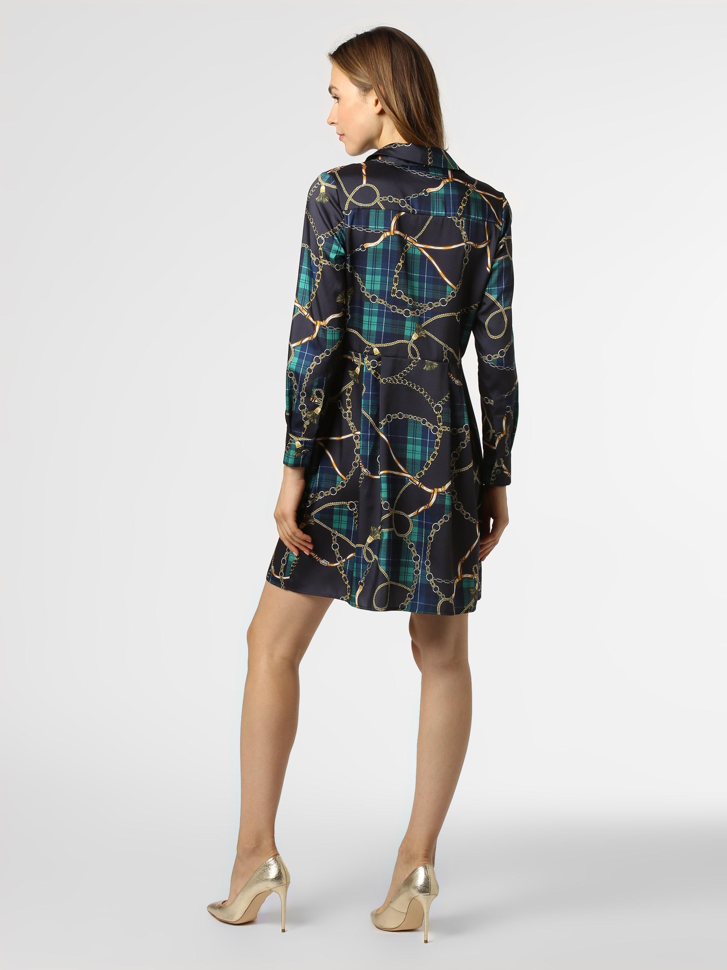 Kleid BlauMarine Goldgelb In Jade Marie Lund nOy8N0wvm