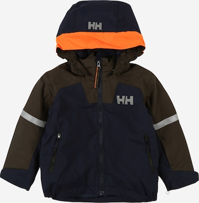 HELLY HANSEN Sportjacke 'LEGEND' in navy / silbergrau / oliv / orange, Produktansicht