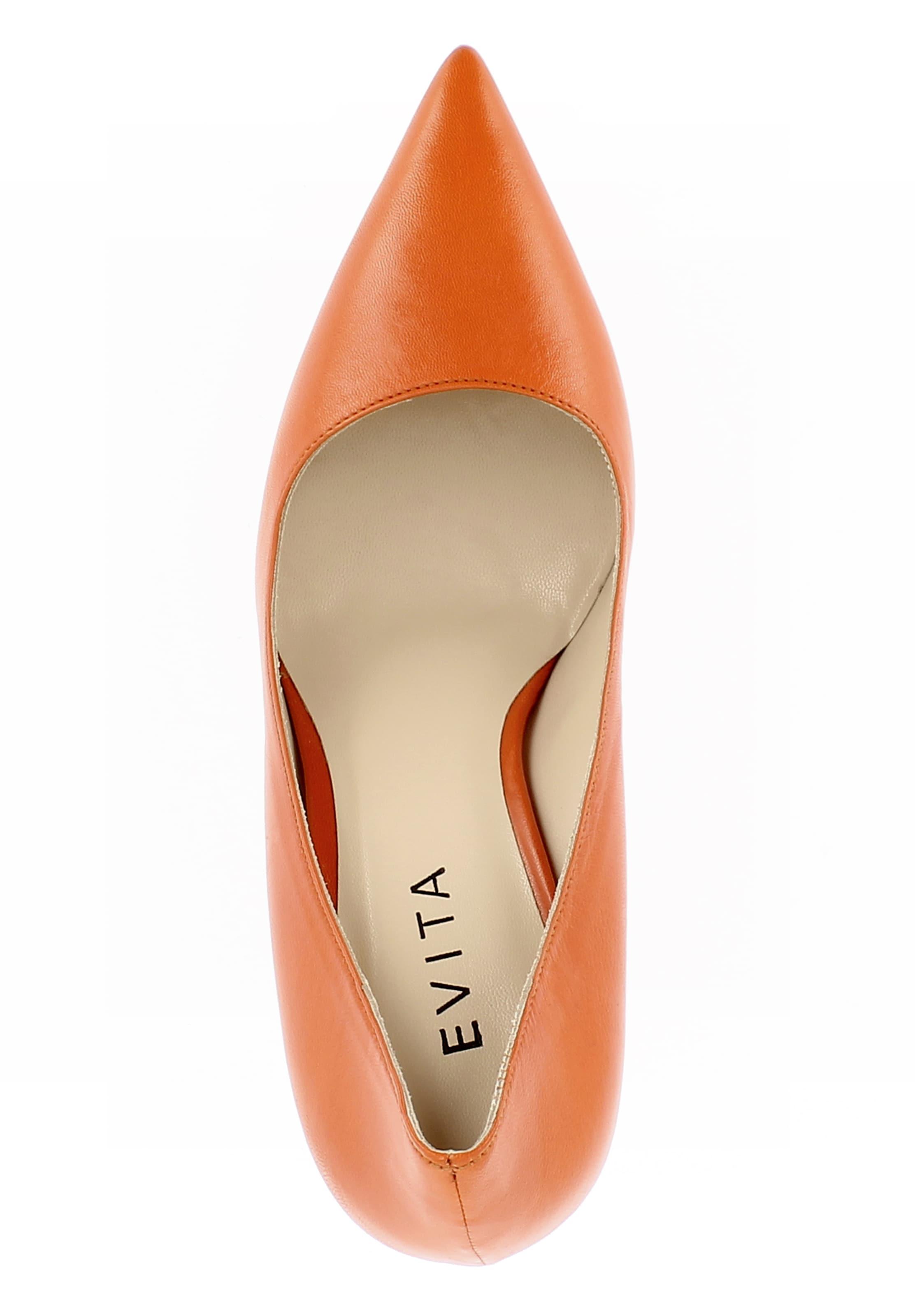 Escarpins Evita Cognac Escarpins 'natalia' Evita En 'natalia' QrxsCthd