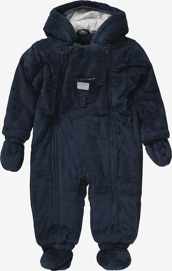 KANZ Baby Schneeanzug in hellbeige / blau, Produktansicht