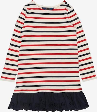 POLO RALPH LAUREN Sukienka w kolorze kremowy / niebieska noc / czerwonym, Podgląd produktu