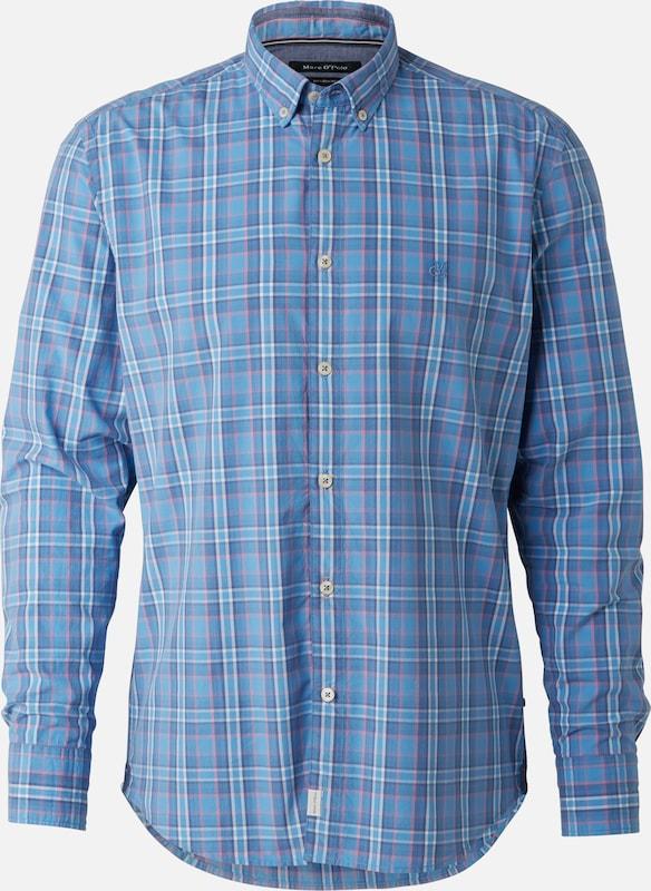 Marc O'Polo Hemd in rauchblau   royalblau   hellgrau   rosé  Neu in diesem Quartal