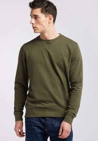Petrol Industries Sweatshirt in grün: Frontalansicht