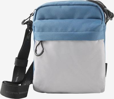 TOM TAILOR DENIM Umhängetasche 'Leon' in blau / grau, Produktansicht