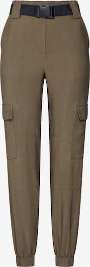 Pantaloni cu buzunare OBJECT pe oliv, Vizualizare produs