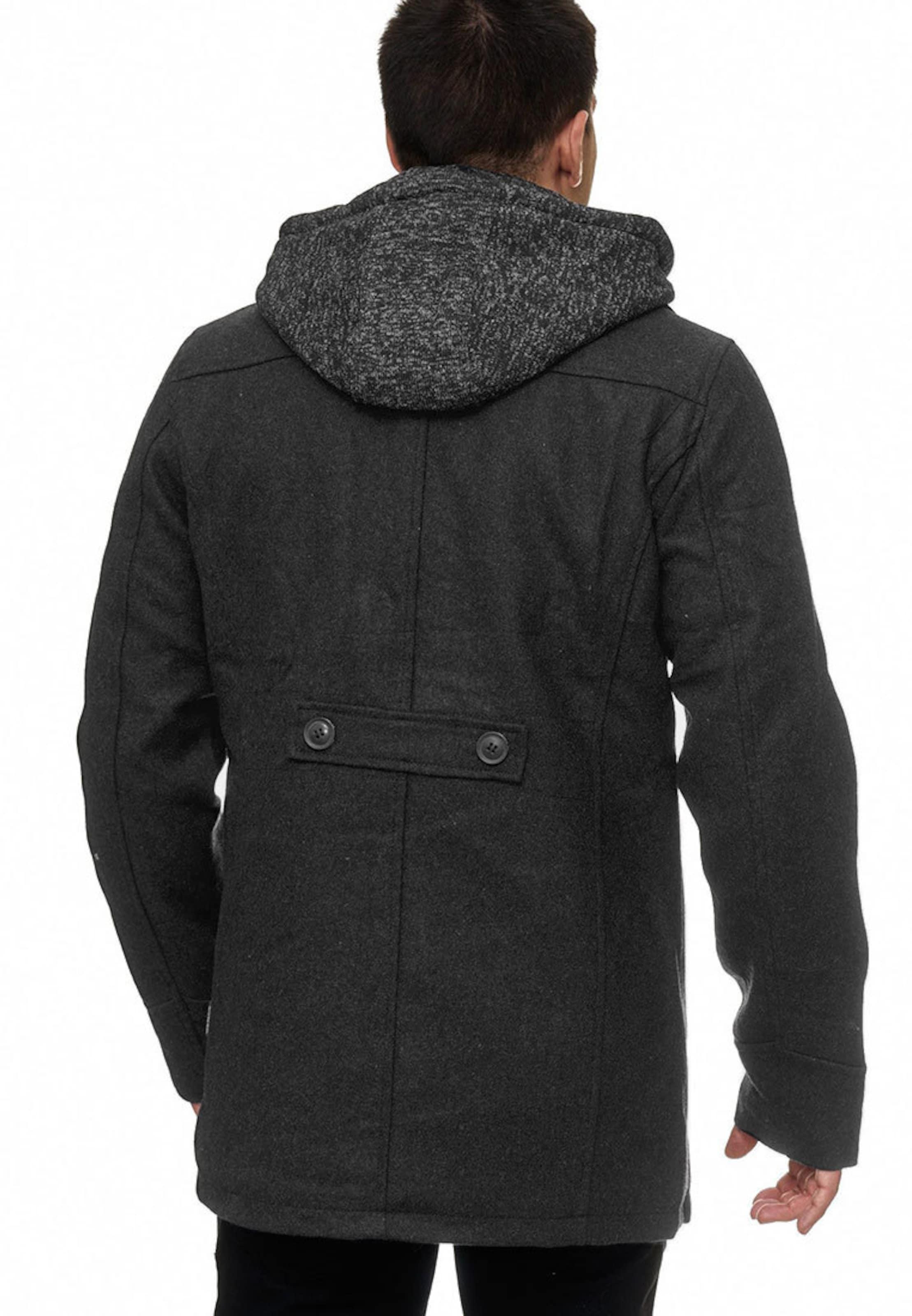 Jeans Indicode En D'hiver Jacke ' Cliff Gris Chiné Manteau 4jAqSc5RL3