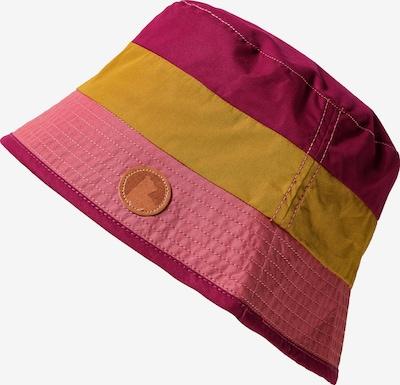 FINKID Hut 'Lasse' in senf / pink / burgunder, Produktansicht