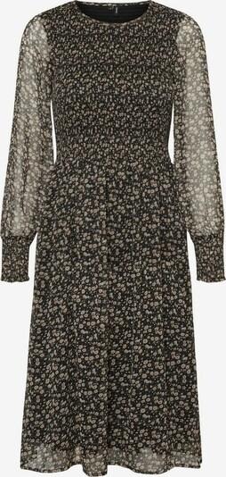 VERO MODA Kleid in mischfarben / schwarz: Frontalansicht