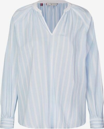 TOMMY HILFIGER Bluse in opal / weiß, Produktansicht