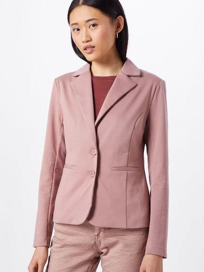 Cream Blazer 'Anett' in rosé, Modelansicht