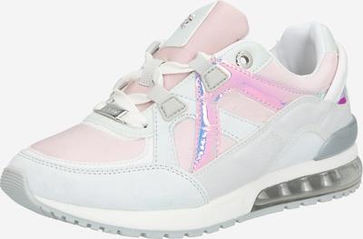 MEXX Sneakers laag 'Elane' in de kleur Rosa / Zilver / Wit, Productweergave