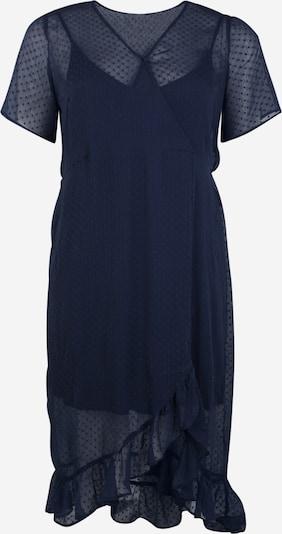Junarose Jurk 'Maggie' in de kleur Donkerblauw, Productweergave