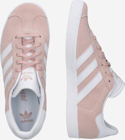 ADIDAS ORIGINALS Sneaker 'Gazelle' in rosa / weiß: Seitenansicht